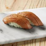 学芸大学前 肉寿司 - 味噌漬け牛タン