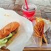 江藤ボートハウスレイクサイドオープンカフェ - 料理写真:ポークリブステーキサンドセット