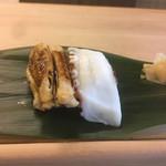 116739587 - 煮アナゴ、蛸