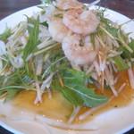 菊華飲茶館 - 1.菊華特製サラダ
