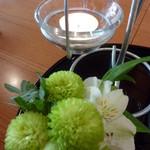 花筐 - 2012年2月 誕生日プレートの花♪