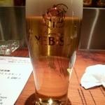 trattoria SATOMI fooding - 生ビール