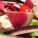 MA MAISON - バーニャカウダーの野菜UP