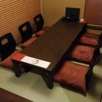 うな神 - 六人テーブル席