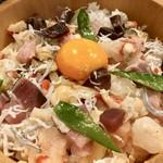 東京銀座食堂 - 海鮮ひつま飯