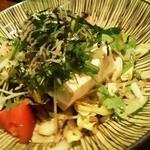 11675514 - 120210東京 えんざ 豆腐サラダ