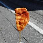 林田のおせんべい - みたらし味のおせんべい
