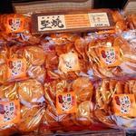 林田のおせんべい - お土産に堅焼きを購入