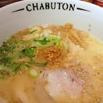 CHABUTON - ちゃぶとんらぁ麺700円