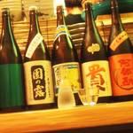 小料理 百けん - 焼酎、日本酒、ビオワイン、国産ウィスキーなどなど