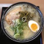 ラーメン櫻島 - 1枚チャーシュー麺