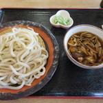 くまどん - きのこ汁うどん(小)550円