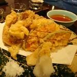 たくみ ろまん亭 - 夏野菜の天ぷら盛り合わせ