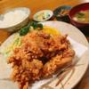 かつれつ庵 - 料理写真:唐揚定食