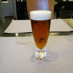 黒船亭 - 「生ビール(琥珀エビス)」です。