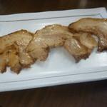 らーめんまがり - 炙りチャーシュー(別皿での提供時)