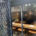 HAGI CAFE  - 外から店内