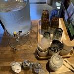 HAGI CAFE  - 水セルフ