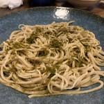 鯛炊き蕎麦とおかず きし - 料理写真: