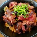 COLT agingbeef&grill - カナダ産リブキャップステーキ丼