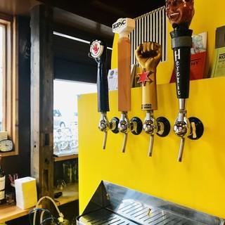 関西エリアを中心にセレクト!高品質のクラフトビール!