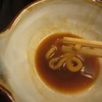角丸 - 麺の断面