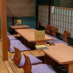 会席料理 かど36 - 2019.10 掘りごたつ式の座敷