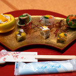 会席料理 かど36 - 2019.10 前菜