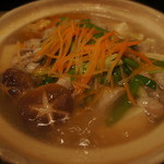 沖縄料理 うぶすな - 塩モツ鍋