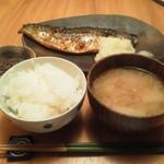 11678515 - 「サバ焼き定食」です