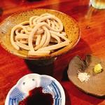そばがき屋 ぐーちょきぱー - 料理写真:あて蕎麦ぶりぶり