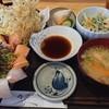 魚瀧 - 料理写真:ばくだん定食天ぷら付き