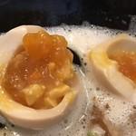 麺屋 よつ葉 - 味玉中身
