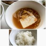 7階のナム - ◆キムチスープ ◆ご飯はお代わり可能。