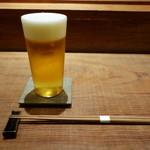 田久鮓 - サッポロクラシック生(750円)