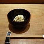 田久鮓 - 毛蟹ワタ和え