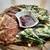 7階のナム - 料理写真:「ニラとネギチヂミ」「キムチチヂミ」・・自家製コチュジャンだれ添え。