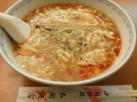 中国料理太湖飯店 本店 - スーラータンメン。