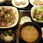 11679318 - 日替わり定食のちらし寿司♪