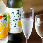 SHIN ~野菜巻き串の巻~ - ワイン_梨・レモン