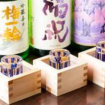 SHIN ~野菜巻き串の巻~ - 日本酒_梅一凛・福祝・しだれ桜