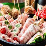 SHIN ~野菜巻き串の巻~ - 野菜盛り
