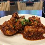 116790744 - 鶏肉のスパイス炒め(チキンチョエラ)
