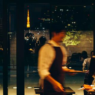 貸切25名様~60名様◎東京タワーを望みながら優雅なひと時を