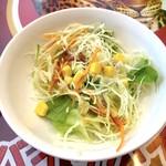 サバイサバイ タイ屋台 - セットのサラダ