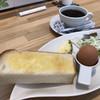 ブルーカフェ - 料理写真:ブレンドコーヒー400円と日替わりモーニング