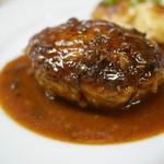ウチョウテン - 黒毛和牛のハンバーグ