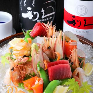 宮城が誇る鮮魚や野菜を存分に味わう