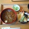 kyouudonnamasobaokakita - 料理写真:天ぷらそば