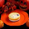 Sweet of Oregon - 料理写真:【季節限定】ハロウィンパンプキン。かぼちゃのレアチーズと人気のプレーンの2層仕立てです♪(テイク商品)